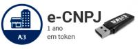 E-CNPJ A3 DE 1 ANO EM TOKEN