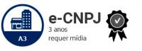 E-CNPJ A3 DE 3 ANOS