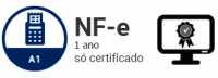 NF-e A1 - Certificado Digital