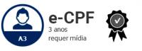 E-CPF A3 DE 3 ANOS