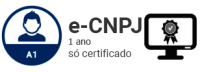 E-CNPJ A1 - Certificado Digital