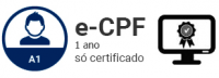 E-CPF-A1 - Certificado Digital